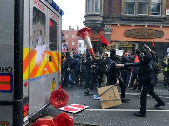 Беспорядки в центре Лондона 26 марта 2011 года. Фото ©AFP