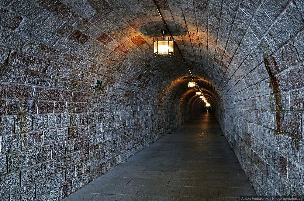 Тоннель ведущий в Орлиное гнездо