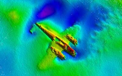Военный самолёт пролежал в Ла-Манше 70 лет