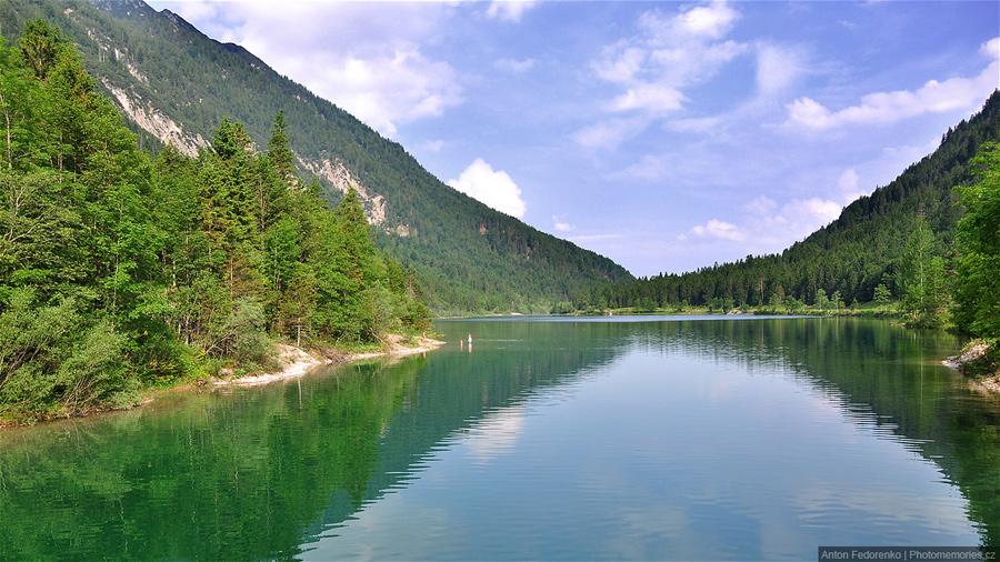 Озеро Планзее
