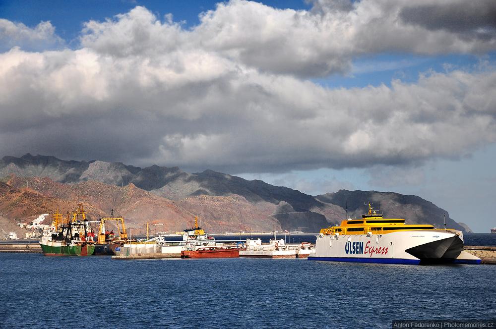 Порт Санта Круз, Тенерифе