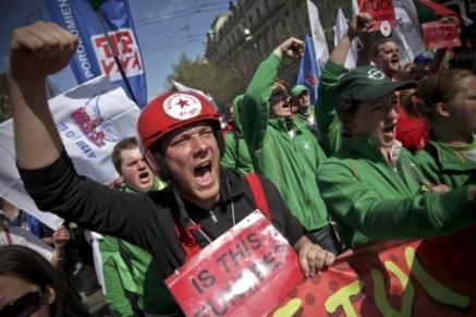 Европейцы против политики экономии