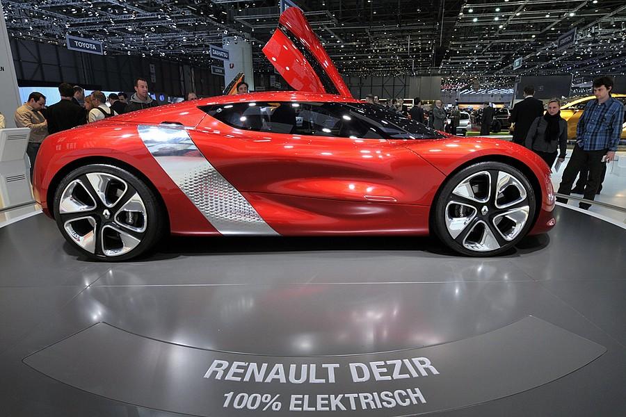 Новый Renault Dezir
