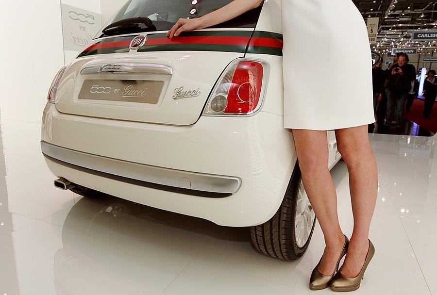 Fiat 500 от Gucci