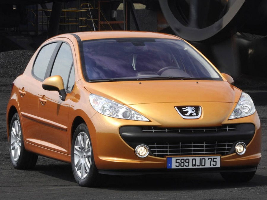 Peugeot 207, продажи  - 31 тыс.шт.