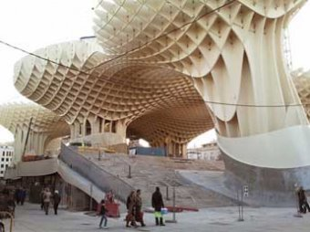 Городские зонтики в Севилье