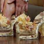 Туфли из сыра и хлеба