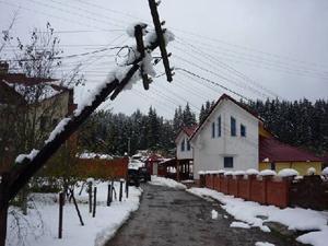 Жители Подмосковья сидели без электричества