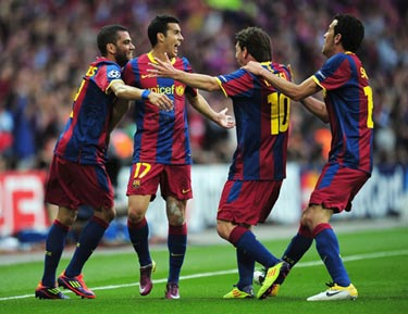 Барселона - Манчестер Юнайтед. 3:1