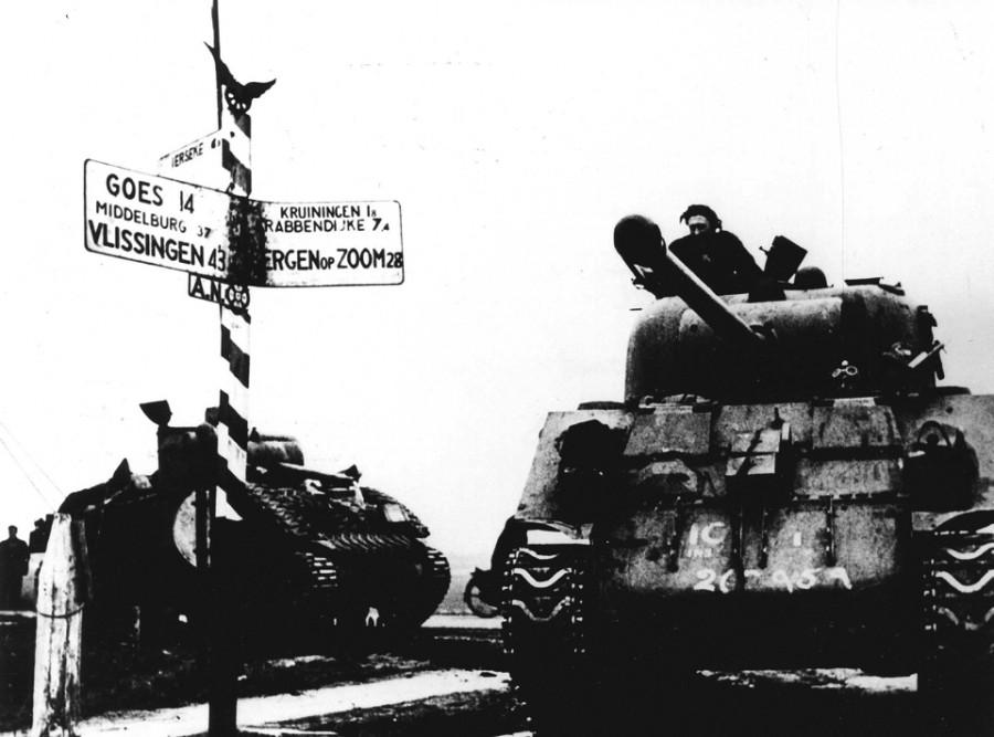 Освобождение Нидерландов. Берген-оп-Зом (ANP)