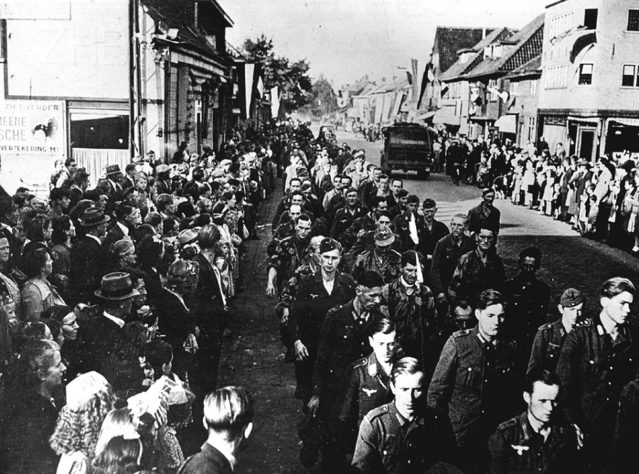 Немецкие военнопленные (ANP)