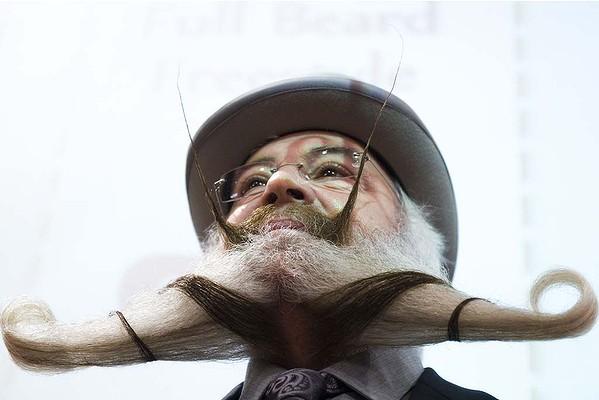 в Норвегии состоялся чемпионат среди усачей и бородачей