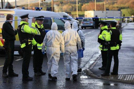 Взрыв бомбы в Северной Ирландии