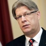 Валдис Затлерс распустит Парламент Латвии