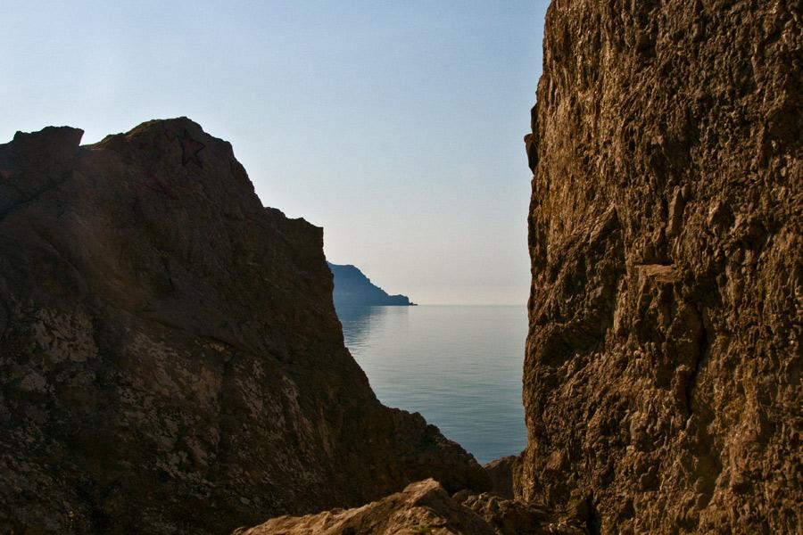 Морские пейзажи с мыса Алчак