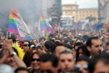 В Риме прошёл большой гей-парад