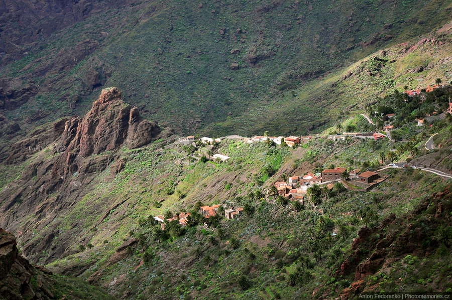 Затерянная испанская деревня Маска