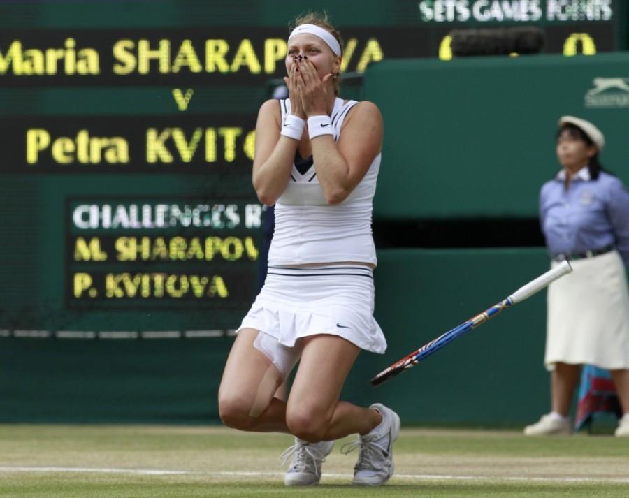 Петра Квитова победила Марию Шарапову в финале Уимблдона - 2011