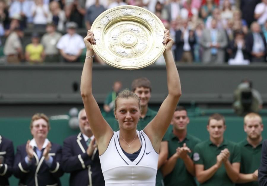 Петра Квитова победительница Уимблдона - 2011