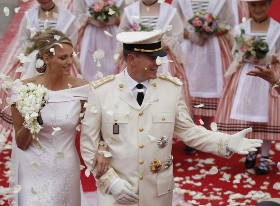 Венчание князя Альбера II и княгини Шарлин, Монако, 2 июля 2011 г.