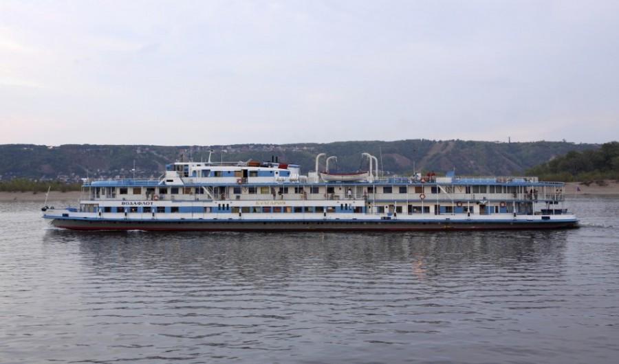 Так выглядел теплоход БУЛГАРИЯ, затонувший в Волге 10 июля 2011 года
