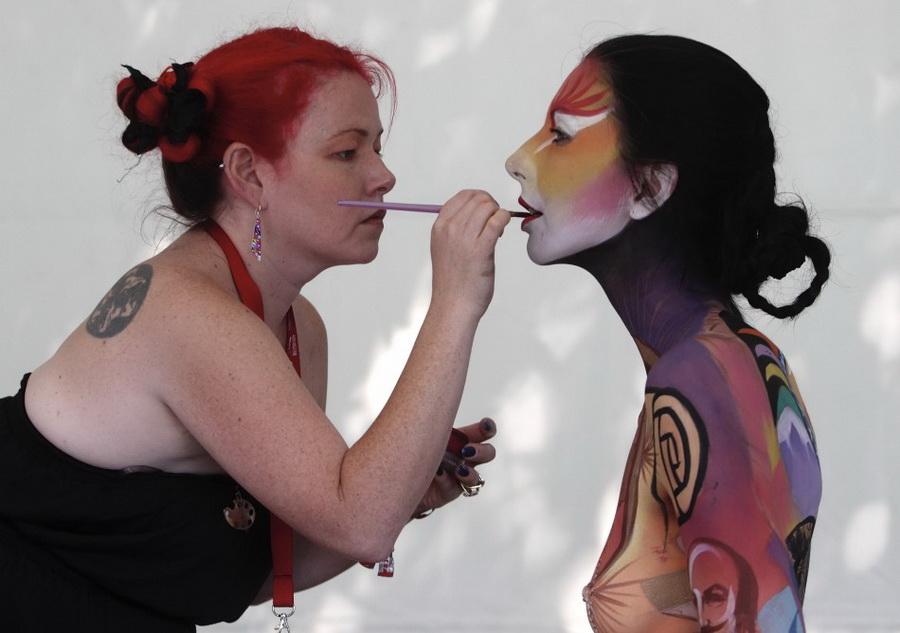 Крупнейший в мире фестиваль боди-арта, 1-3 июля 2011. Грац, Австрия