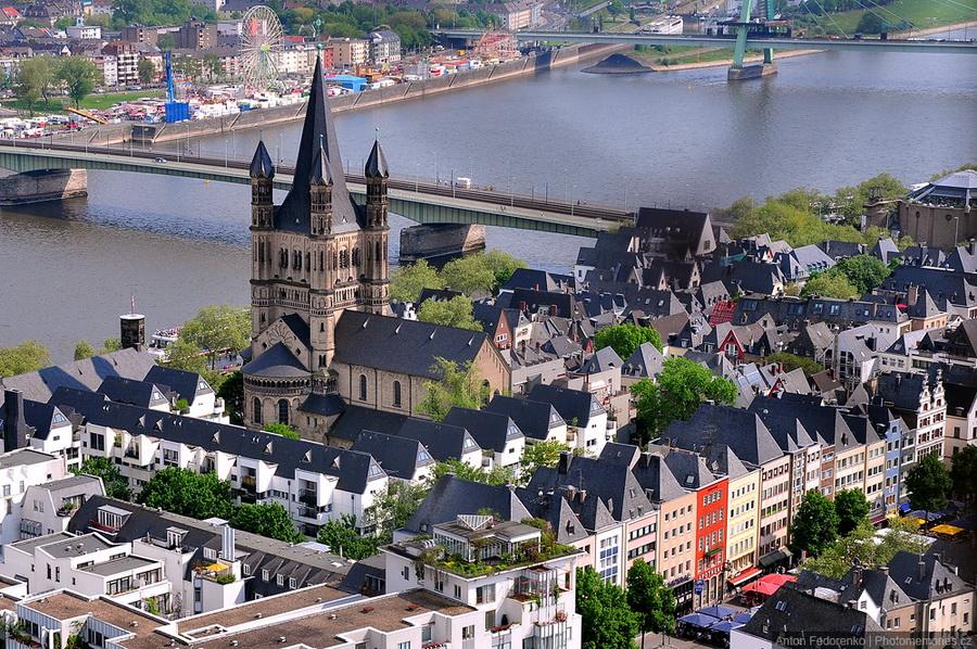 Кёльн - своеобразный Германский мегаполис
