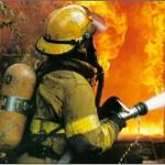 Женщина на пожаре - к несчастью?