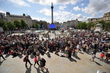 В Лондоне собрались поклонники Гарри Поттера