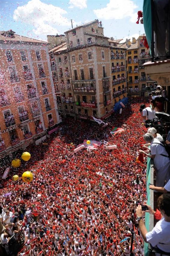 Испания, Памплона - Праздник святого Фермина 2011