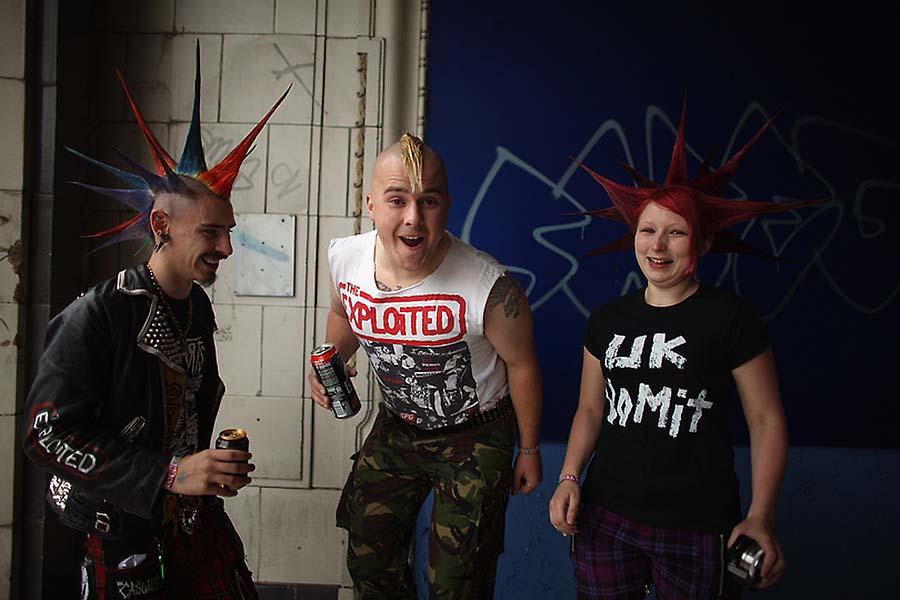 Панк-фестиваль в английском городке Блэкпул