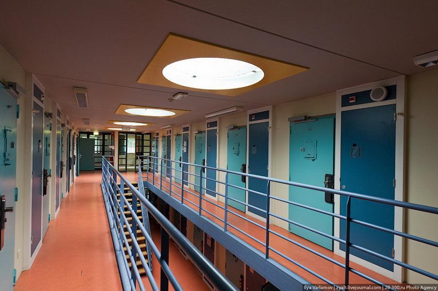 Голландская тюрьма - рай для уголовников