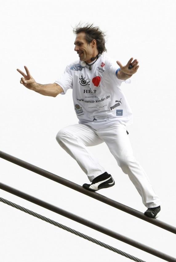 Канатоходец Нок поставил новый мировой рекорд