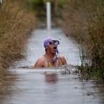 Чемпионат мира по грязевому дайвингу в Уэлсе