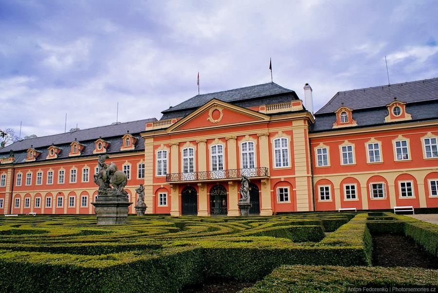 Замки Чехии - Добржиш