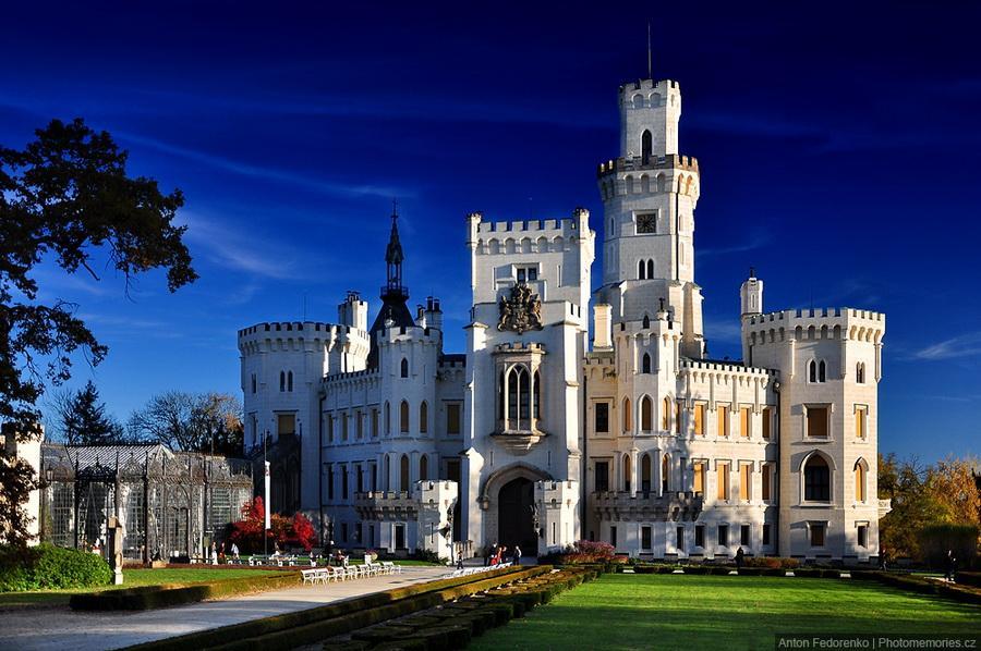 Замки Чехии - Глубока над Влтавой