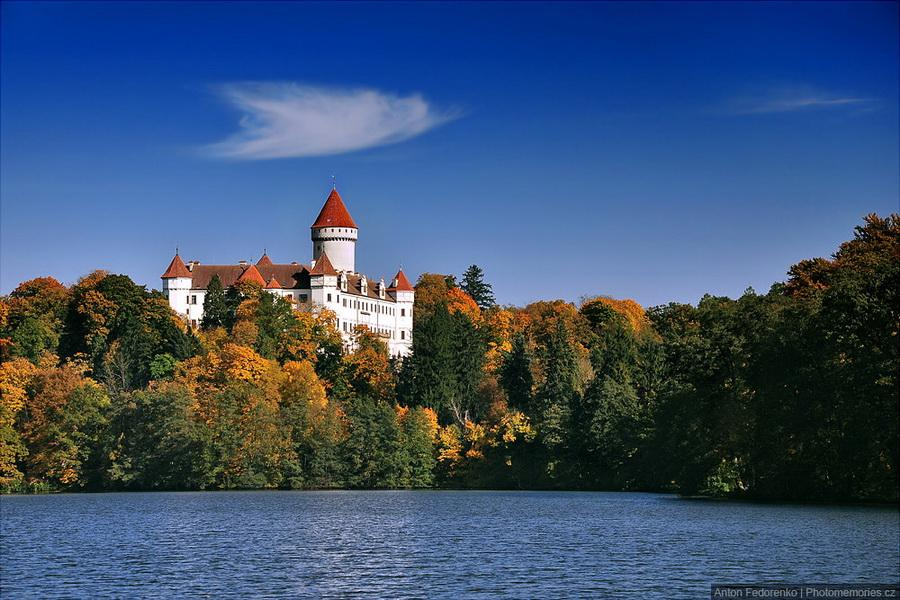 Замки Чехии - Конопиште