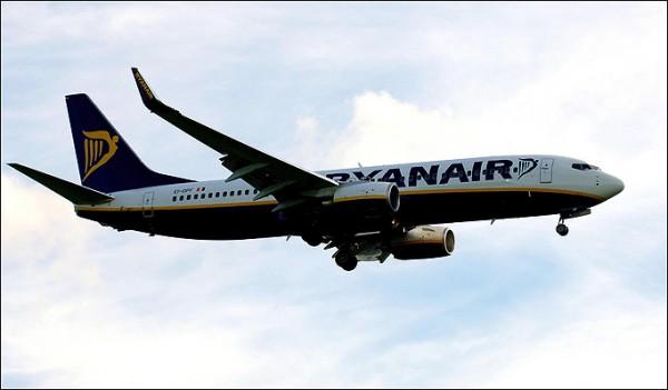 Аварийная посадка RYANAIR
