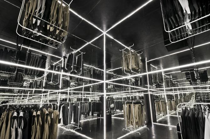 Внутренний дизайн бутика Zuo Corp
