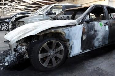 В Берлине уже неделю горят автомобили