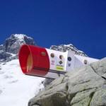 Необычный дом для альпинистов