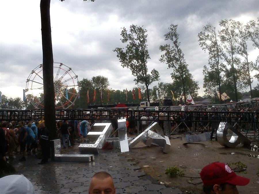 Трагедия на рок-фестивале в Бельгии