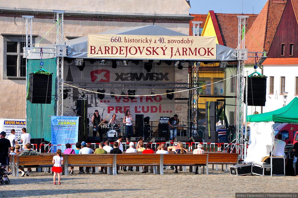 Шестьсот шестидесятая историческая ярмарка в словацком городе Бардеёв