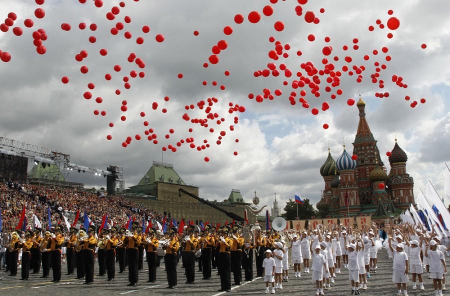 День города в Москве 2011
