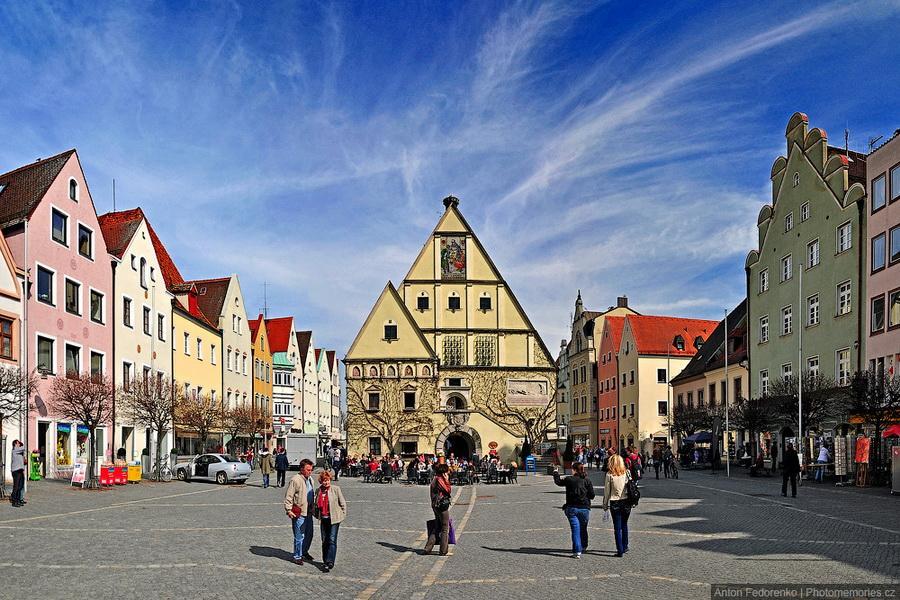 Вайден - небольшой уютный баварский городок