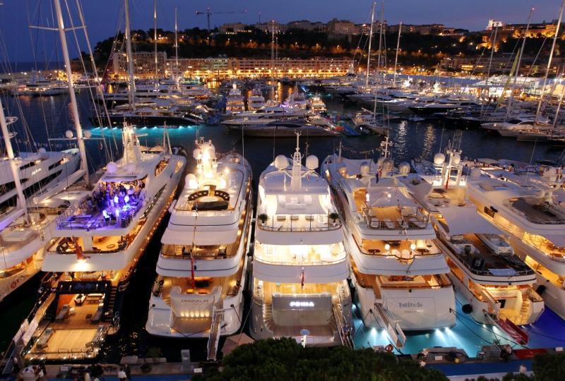 Супер выставка лучших яхт мира в Монако