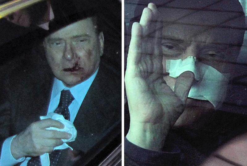 Нападение на Берлускони в Милане в 2009 году