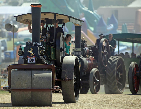 Фестиваль паровых машин в Англии