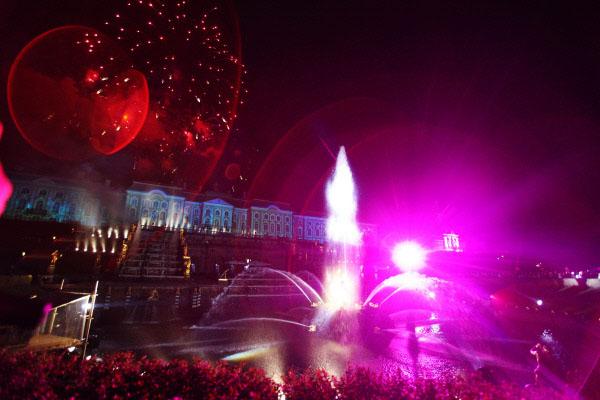 Последнее шоу фонтанов