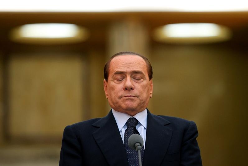 """Сильвио Берлускони - основатель партии """"Вперед Италия"""""""